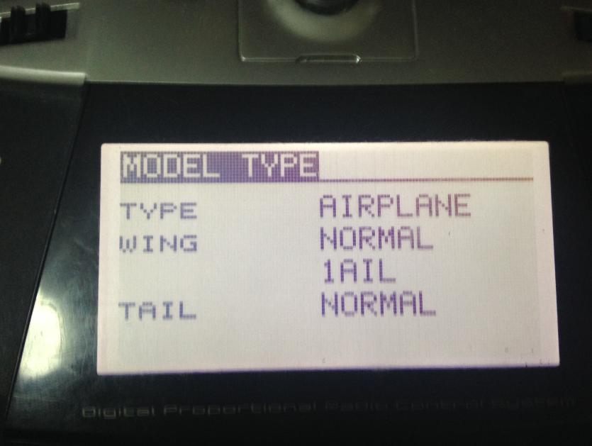 选择固定翼模式
