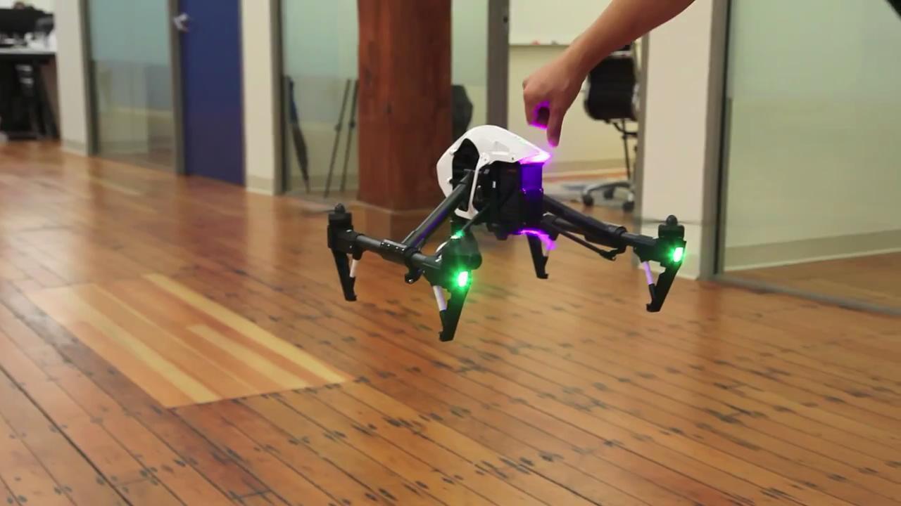The DJI Inspire 1 quadcopter drone takes a flight inside_20141219114445.JPG