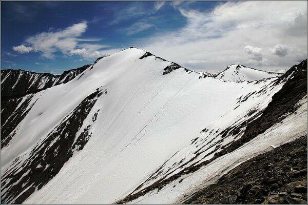 美丽的冰川近在咫尺(此图来自网络)