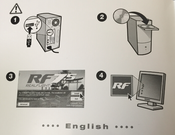 RF安装步骤