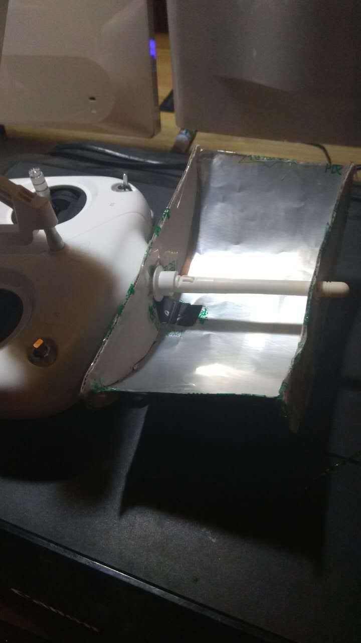 无线增程器成品侧面图